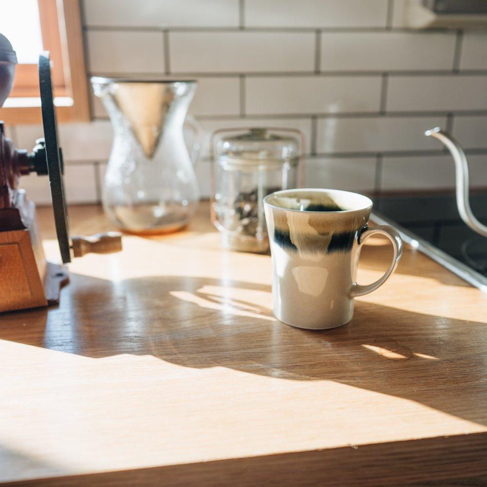コーヒーの時間のカップ