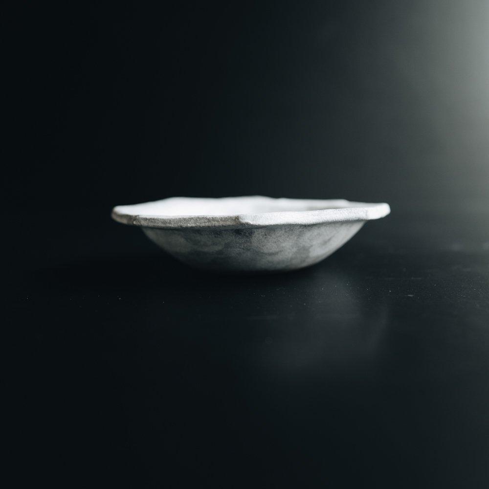 (2021年1月) ラグーン八角小鉢 ホワイト