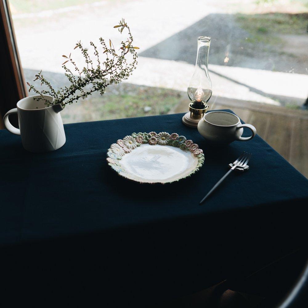 2021年2月20(土)18:00〜「くらしの中のイロドリ展」つちのわ 花かんむり MIX 21cm   つ15