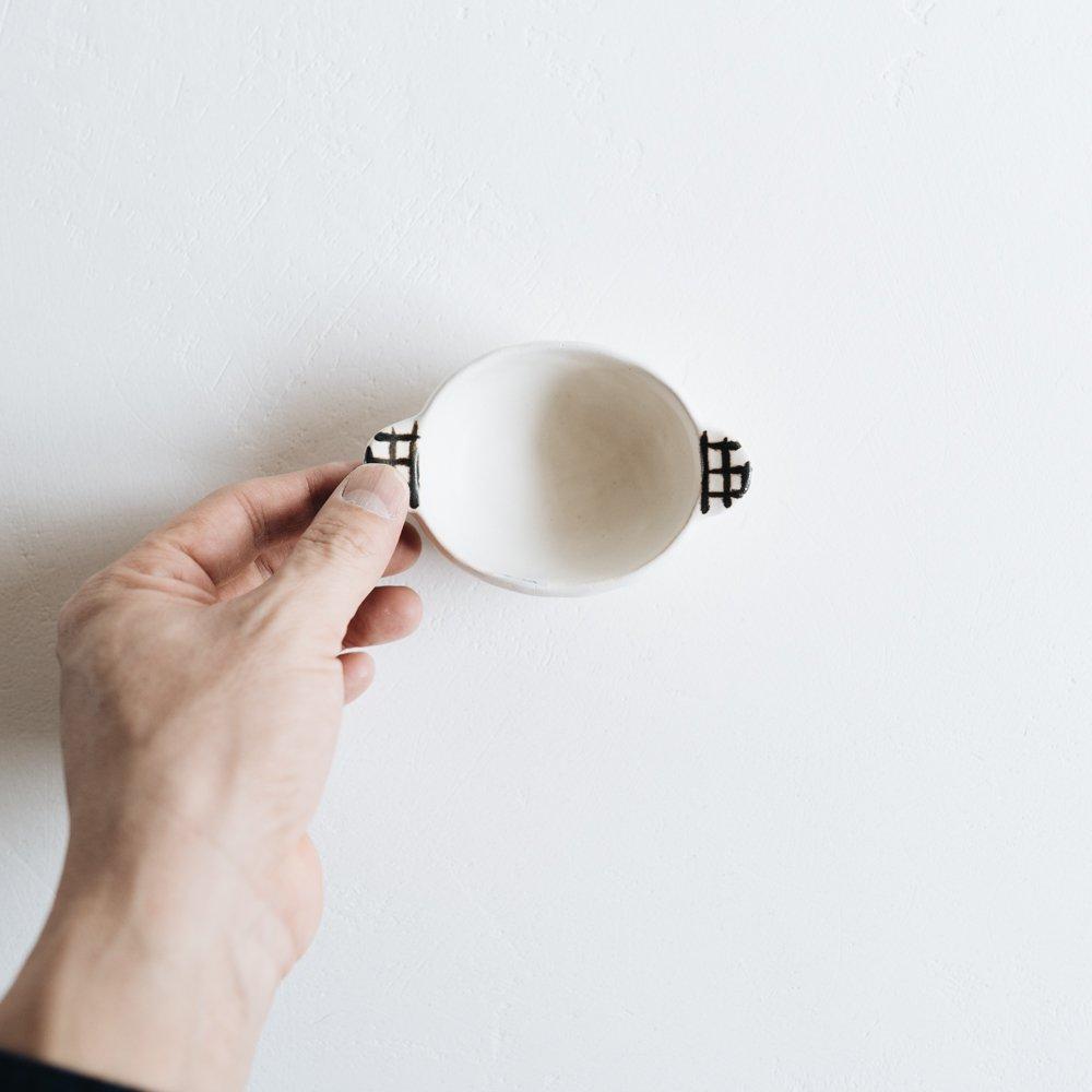 2021年2月20(土)18:00〜「くらしの中のイロドリ展」大田亜樹  豆鉢   お17-3