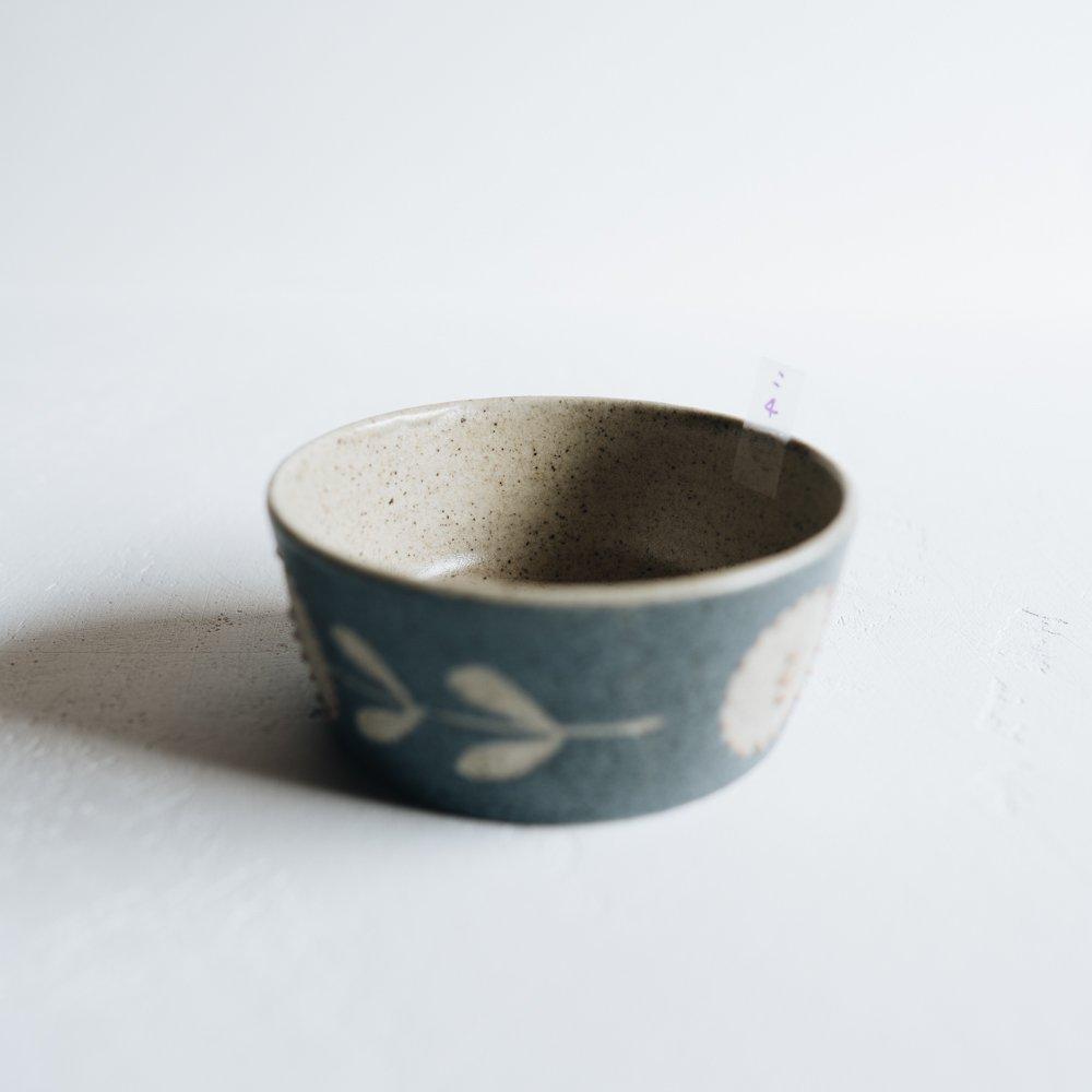 2021年2月「イロドリ冬の陶器市」 苔色工房 八角小鉢 こ4