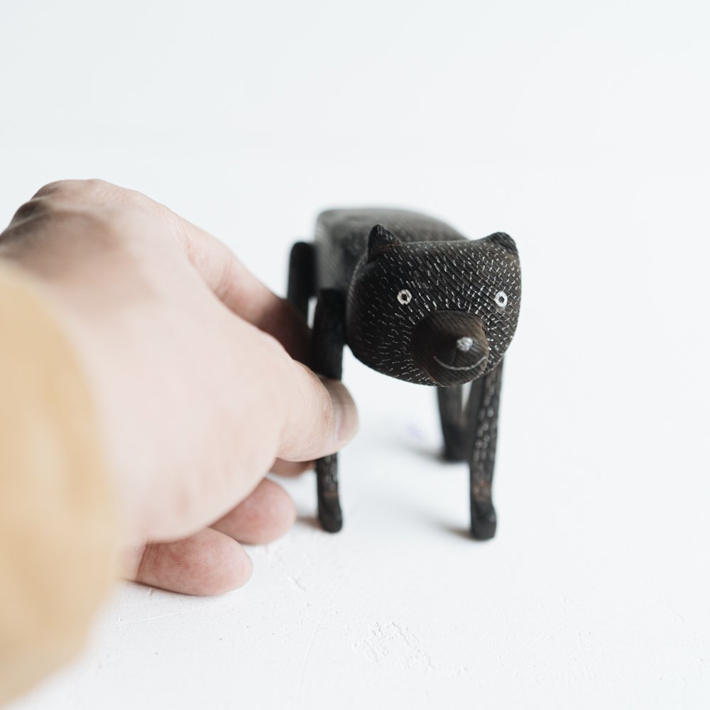 (2021年5月)タカハシヒデキ 木の動物 た2