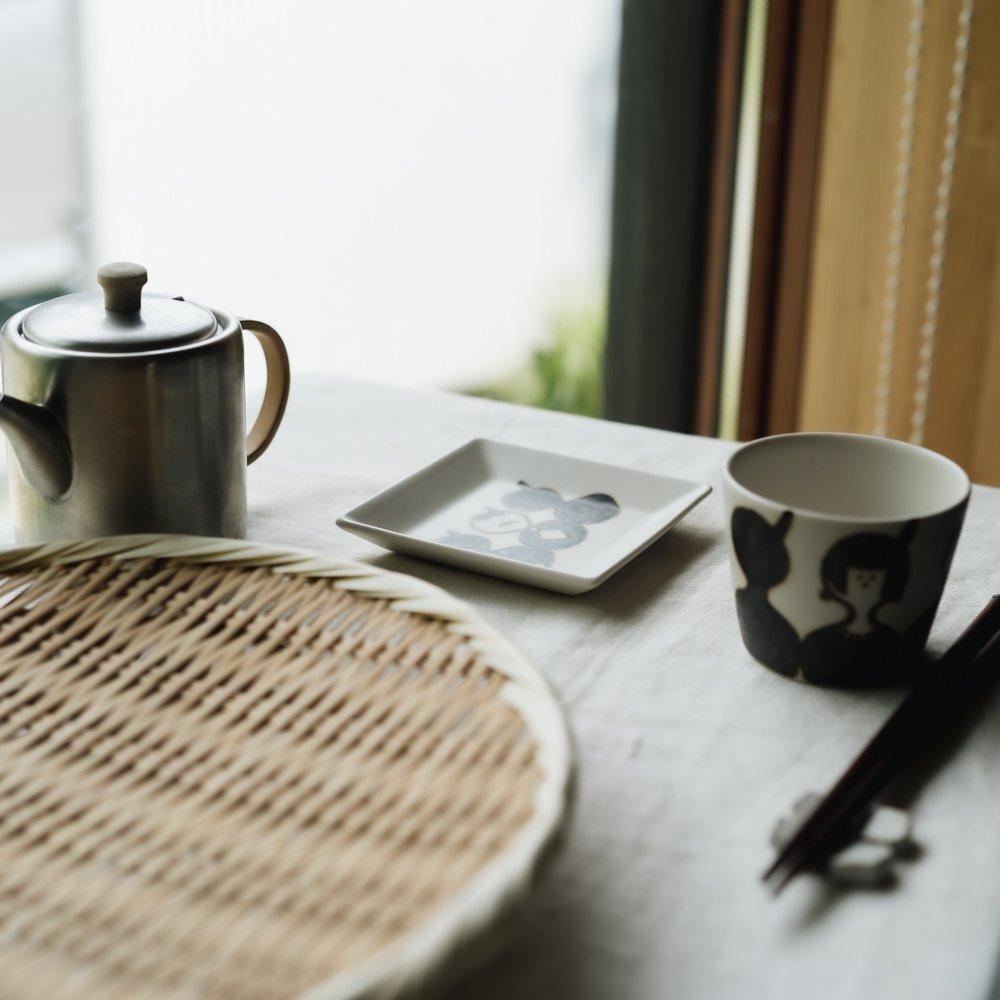 (2021年5月) すこし屋 四角皿 チョビひげ  7
