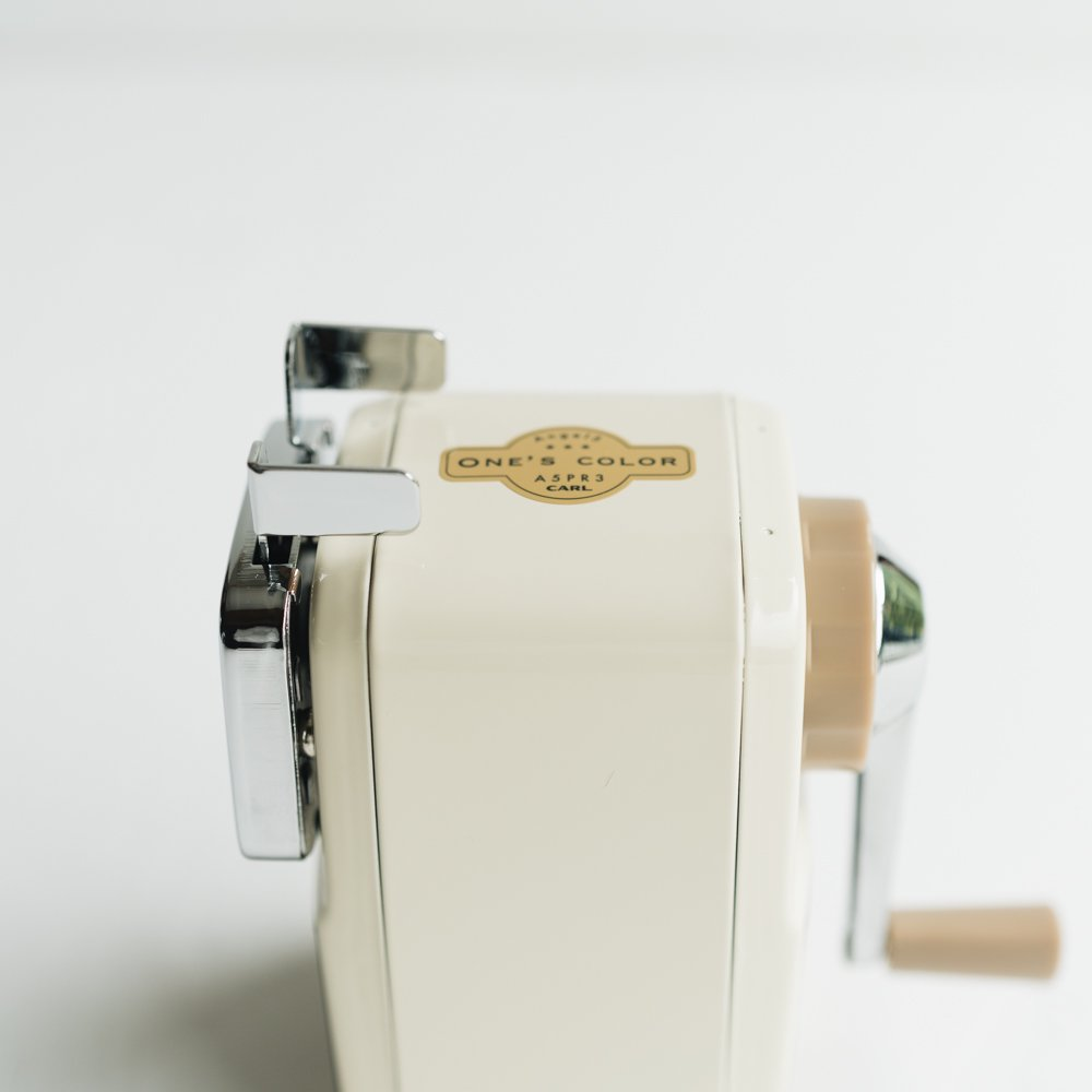 鉛筆削り (ホワイト)