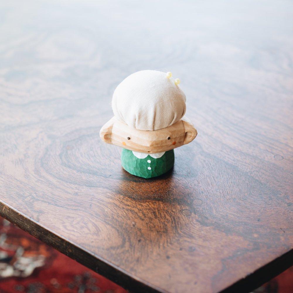 (2021年7月)mokuma 針山ぼうや ホワイト