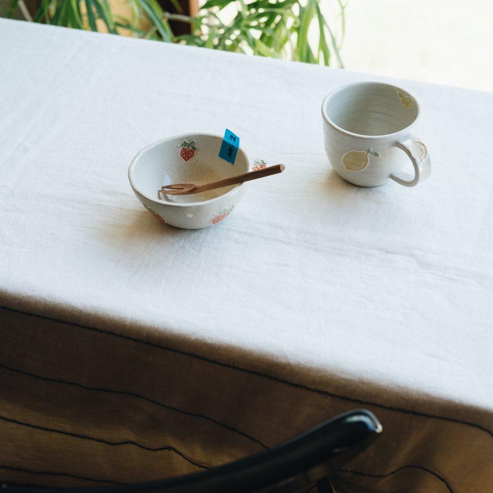 【2021年7月】  中村佳菜子 (デザート小鉢片耳付き いちご)  (N2)