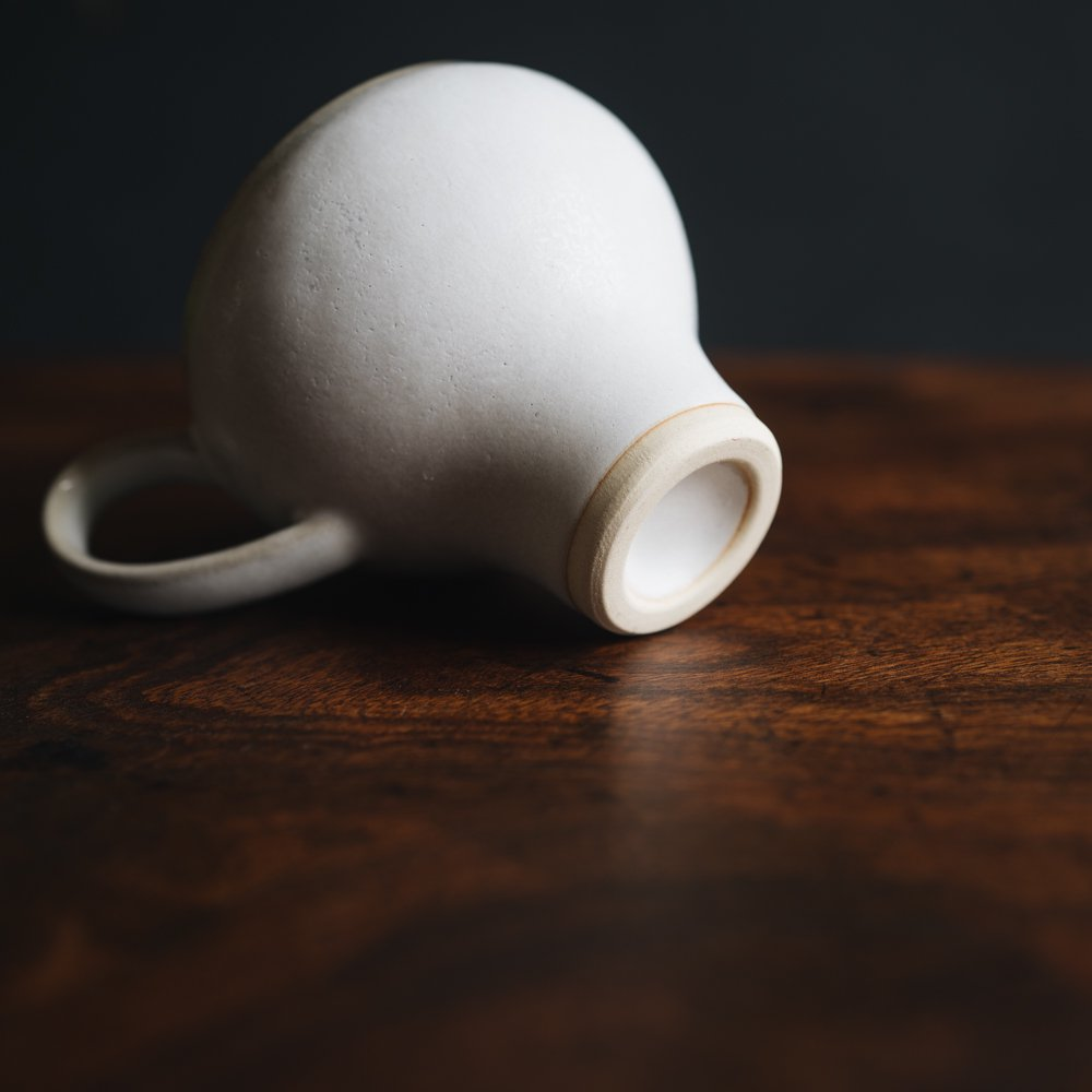 (2021年9月) コーヒーのためのカップ tall(アンティークホワイト)