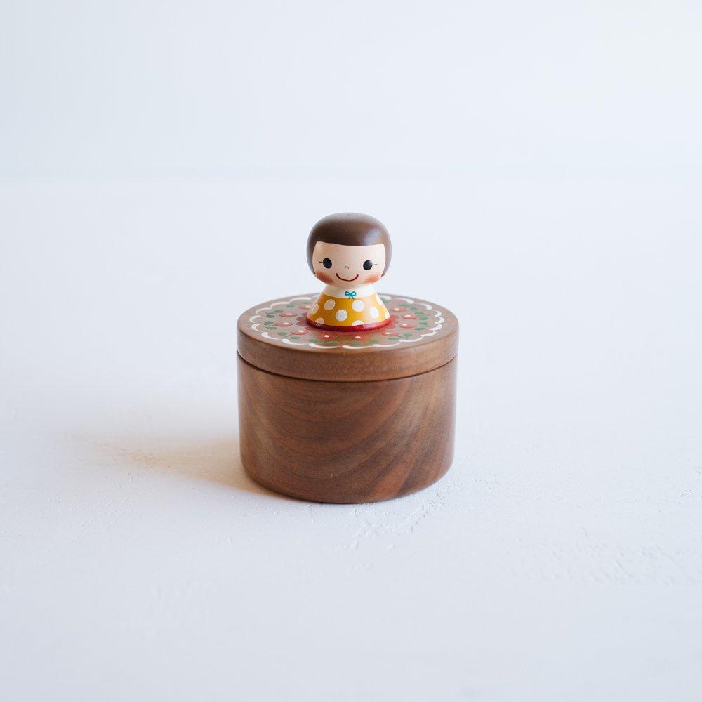 (2021年10月)木絵雑貨 宝石箱(サクラ)  き8