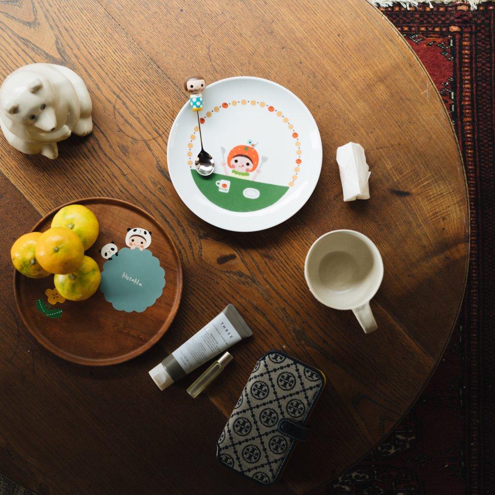 (2021年10月)木絵雑貨 カトラリー スプーン 水色 き11