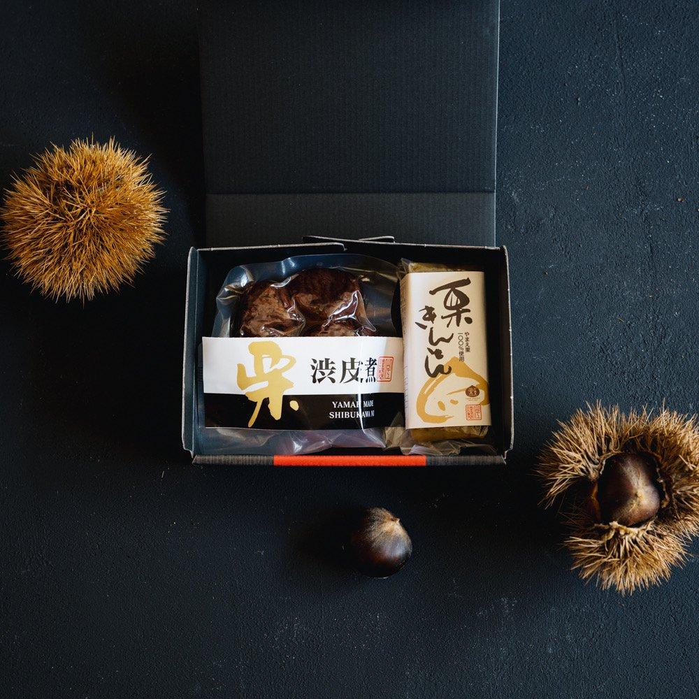 栗きんとん・渋皮煮5粒セット(10月下旬頃発送分)