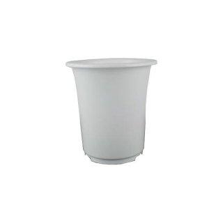 プラ鉢ポット 深型6号 ホワイト