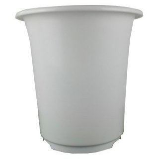 プラ鉢ポット 深型9号 ホワイト