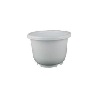 プラ鉢ポット 丸型7号 ホワイト