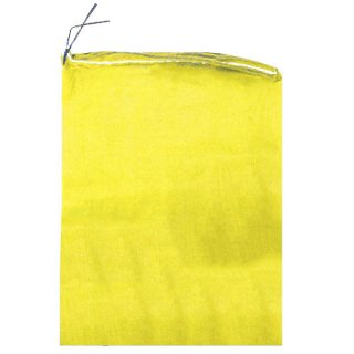 籾消毒袋 黄 400×650mm ラベルなし 50枚セット