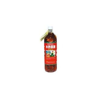 木酢原液1.5L 希釈 国産 赤ラベル 園芸 ガーデニング