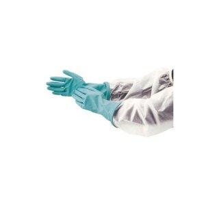 ダンロップ ニトリル腕カバー付手袋 Lサイズ