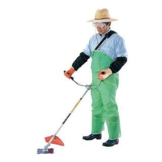 川西工業 メッシュ草刈り用スパット前掛 ズボン式 #4476