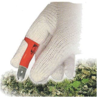 サボテン 指につける 草とり爪・二山タイプ 5-D