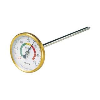 バイメタル穀温計