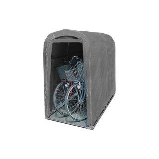 南栄工業 サイクルハウス 2台用 GU型 パイプベース式