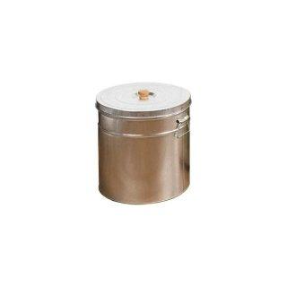 トタン丸形米びつ 30kg用