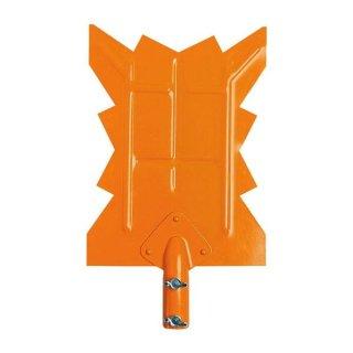 新型雪切り 鉄 スリーV 組立式 伸縮