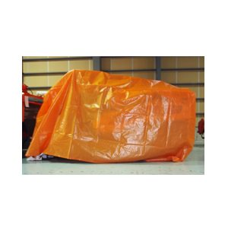 コンバインカバー D型 【3条〜4条刈用】 ブルー/オレンジ