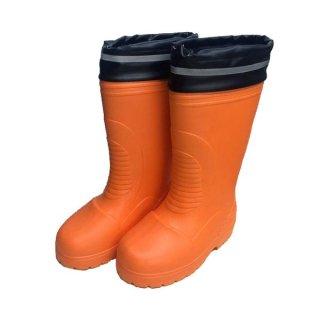 シンセイ カルマンモス 超軽量長靴 SS-0160 オレンジ