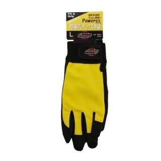 パワーテックス 防寒PUテックス手袋 Lサイズ P-222L イエロー