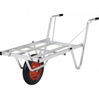 ALINCO アルミ製台車(コンテナカー) SKX-01 一輪車 コンテナ1個 【メーカー直送】【個人宅配達OK】