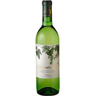 丹波ワイン アッサンブラージュ 白 [NV] 360ml※12本まで1個口で発送可能