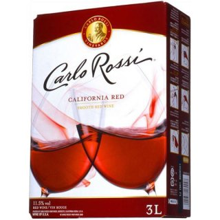 カルロ ロッシ カリフォルニア 赤 3000ml※4本まで1個口で発送可能
