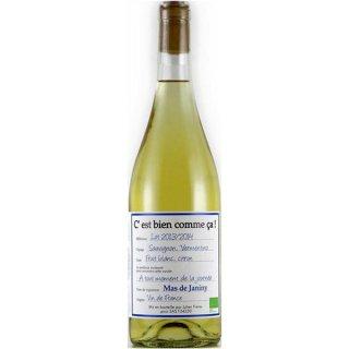 マス ド ジャニーニ セ ビアン コム サ ブラン 750ml / オーガニックワイン