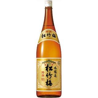 宝(タカラ)酒造 特選松竹梅【本醸造】 1800ml※6本まで1個口で発送可能