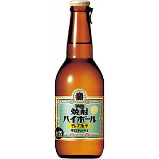 宝(タカラ)酒造 TaKaRa 焼酎ハイボール 壜詰 【グレープフルーツ】 280ml×12本※6本まで1個口で発送可能