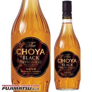 チョーヤ梅酒 The CHOYA BLACK 720ml(ザ・チョーヤ ブラック) ※12本まで1個口で発送可能