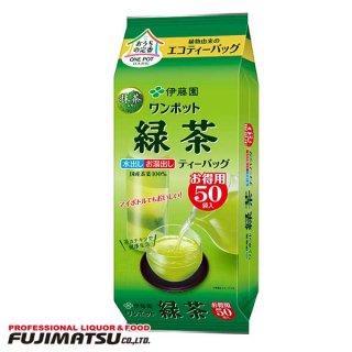 伊藤園 ワンポットエコティーバッグ 抹茶入り緑茶 50袋