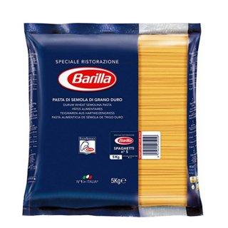 【並行輸入品】バリラ スパゲッティ No.5 [1.7mm] 5kg パスタ ※3個まで1個口で発送可能