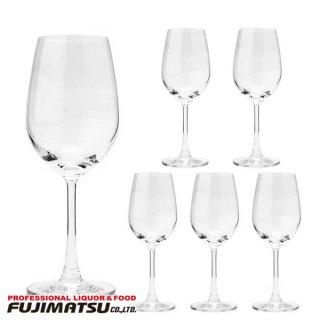 【6脚セット】マディソン ワイングラス ホワイトワイン 350ml(350cc)×6 オーシャン 食洗器可