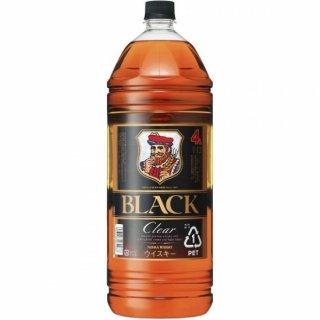 ブラックニッカ クリアブレンド 4L / 4000ml /4リットル (ニッカウヰスキー 国産 ウイスキー 大容量 ペット )※ 4本まで1個口で発送可能