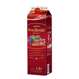 メルシャン ボン ルージュ ボックス 1.8L(1800ml)赤ワイン キリン KIRIN※6本まで1個口で発送可能