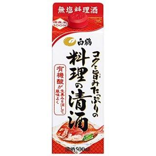 白鶴 コクと旨みたっぷりの料理の清酒1.8L(1800ml) ※6本まで1個口で発送可能