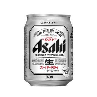 アサヒ スーパードライ ミニ缶 250ml×24本 ※2ケースまで1個口で発送可能