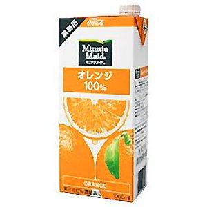 ミニッツメイド オレンジ100% 1Lパック※6本まで1個口で発送可能