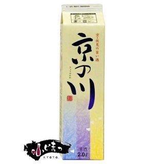 鶴正宗 京の川 2Lパック(2000ml)