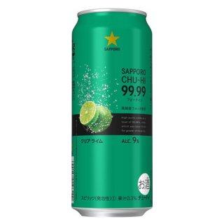【サッポロ】99.99 フォーナイン クリアライム500ml ×1ケース24本 缶チューハイ SAPPORO※1ケースで1個口発送