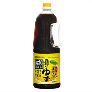 【ミツカン】 かおりの蔵ぽんず 丸搾りゆず 1.8L ぽんず ぽん酢 ポン酢 ポンズ