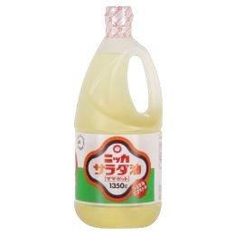 ニッカ 日華 サラダ油 ママポット 1350g ※12本まで1個口で発送可能