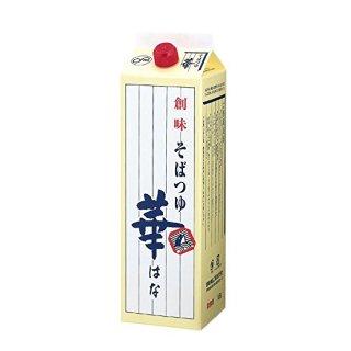 創味 そばつゆ華 1.8L (1800ml)※6本まで1個口で発送可能
