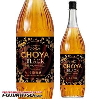 チョーヤ梅酒 The CHOYA BLACK 1800ml ※6本まで1個口で発送可能